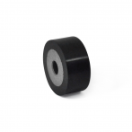 GN454-Buffer_Black_Rubber_with_Stainless_Steel_Retaining_Washer-1.png