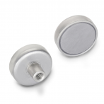 GN50.25-Retaining_Magnet__Disc_Shaped__Female_Thread__Stainless_Steel__Front___Back_View.png