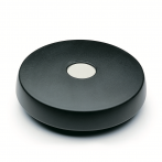 GN521-Disc_Handwheel__Rounded_Off__No_Handle__Black_Plastic_with_Steel_Hub_Bush.png