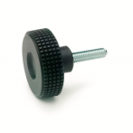 GN534-Knurled_Knob__Black_Plastic_with_Steel__Zinc_Plated_Blue_Passivated_Threaded_Stud.png
