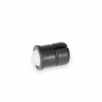 GN614.5-Spring_Plungers__Press_on_Type_with_Self_Clamping_Function__Black_Plastic_Housing_with_White_Plastic_Ball.png