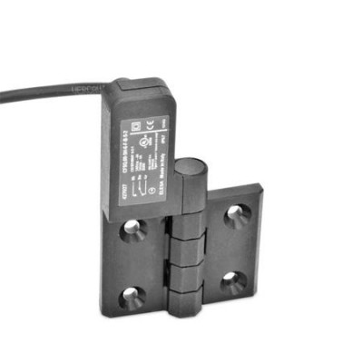 Plastic Hinges GN239.4 with Safety Switch, Electrical Switching ...