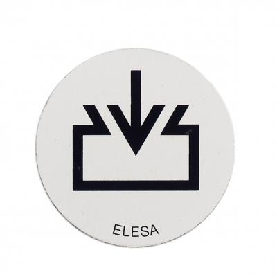 Aluminium Discs Gn7471 For Threaded Blanking Plugs Gn745 Refill Symbol